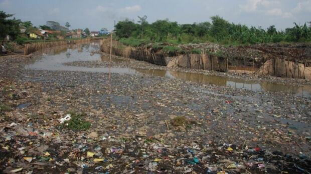 Citarum upe Indonezijoje