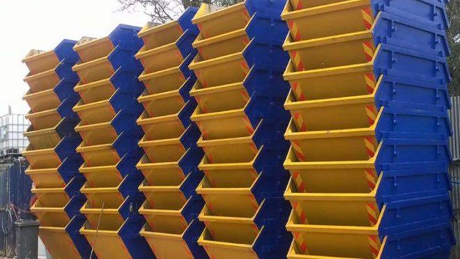 Statybinių šiukšlių konteinerių nuoma