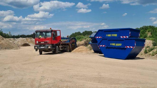 Mišrių atliekų konteineriai
