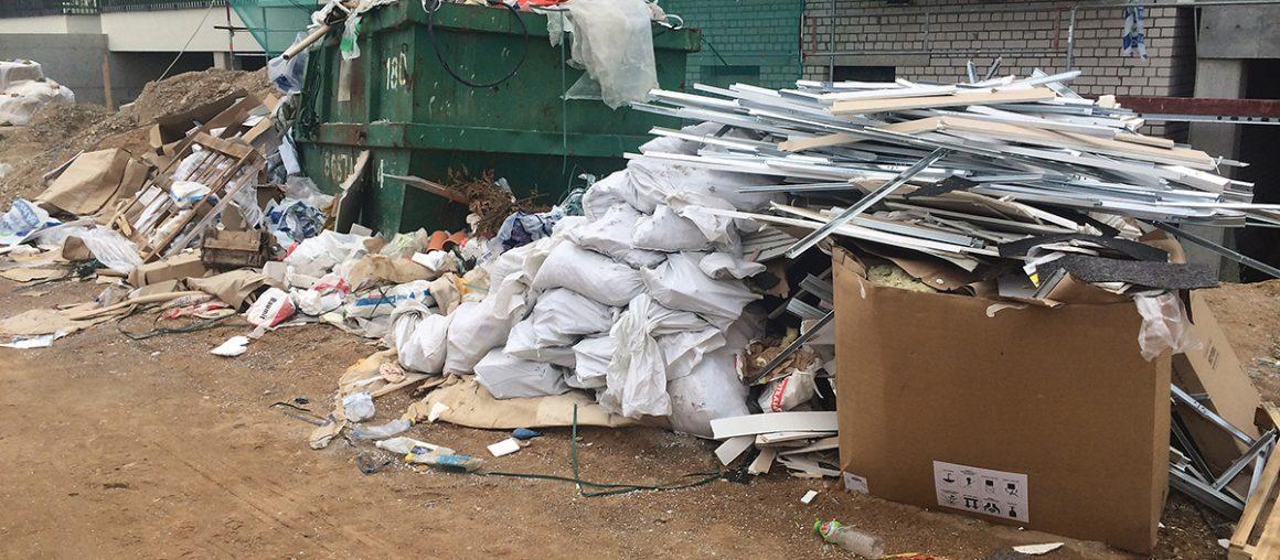 Remonto atliekų išvežimas - kodėl verta?